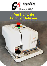 Printex G5 Optix - Point of Sale Pad Printing Solution